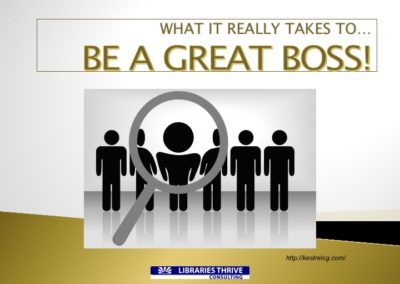 What It Really Takes to Be a Great Boss