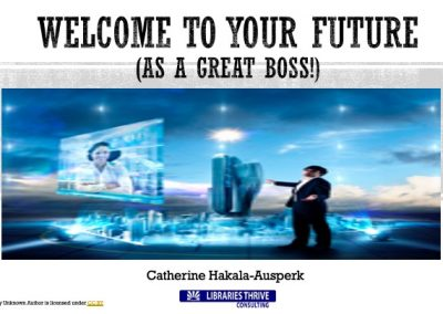 1-Welcome To Your Future As a Great Boss