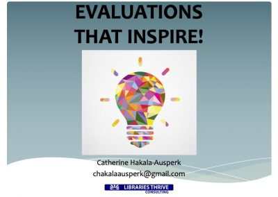 10-Evaluations That Inspire