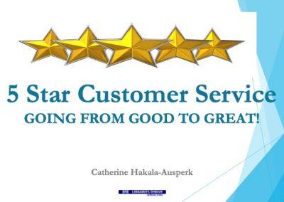 12-5 Star Customer Service