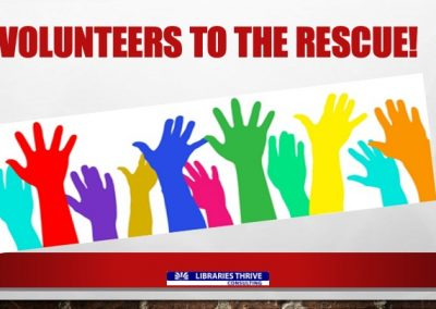 2-VOLUNTEERS TO THE RESCUE