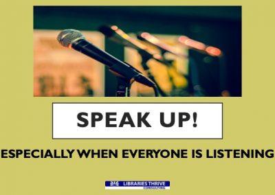 4-SPEAK UP