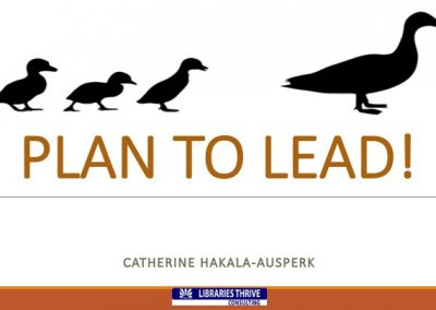 5-Plan to Lead